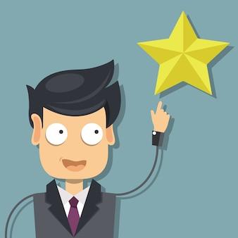 Classificação na ilustração de atendimento ao cliente