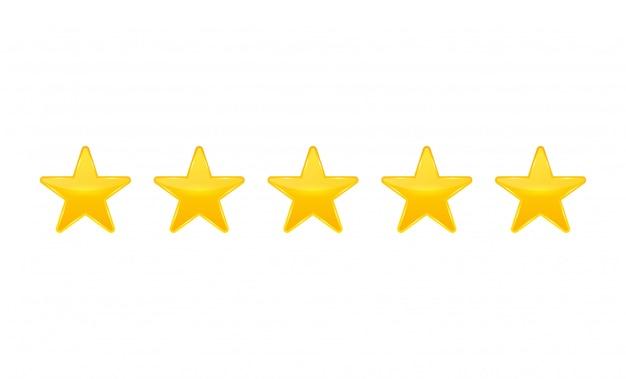 Classificação por estrelas. votar como ranking.