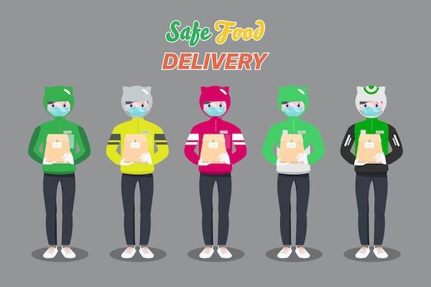 Cliente comprando online durante covid-19. fique em casa evitando a disseminação do coronavírus.