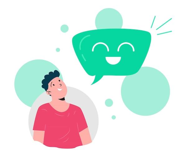 Cliente dando feedback