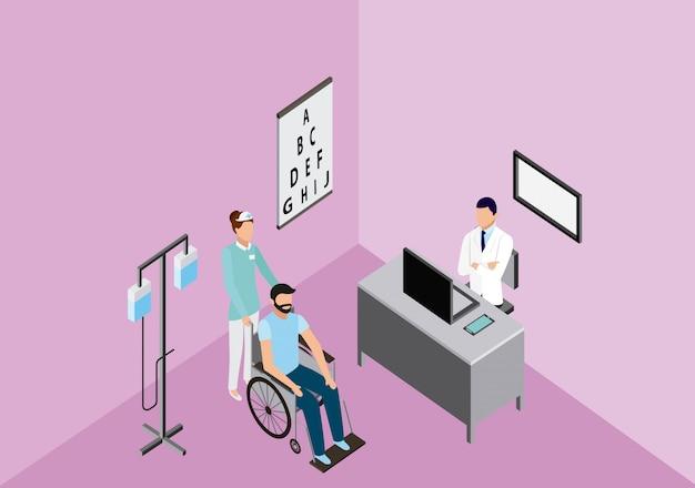 Clínica médica de saúde