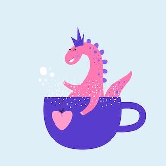 Clipart de personagem de dinossauro