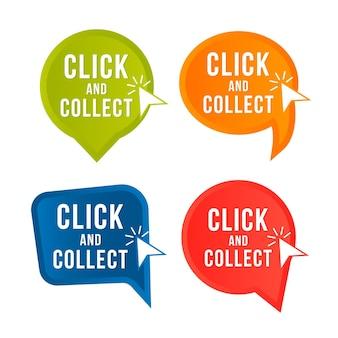 Clique e colete a coleção de botões