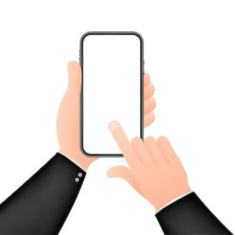 Clique na ilustração do smartphone