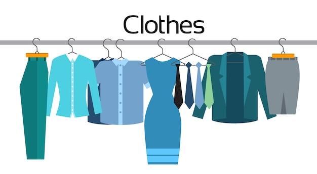 Clothes official business coleção show room loja flat