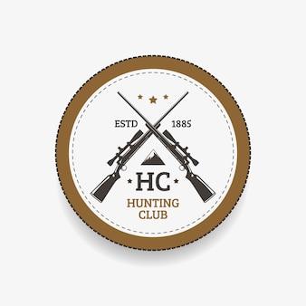 Clube de caça do emblema
