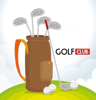 Clube de golfe desportivo