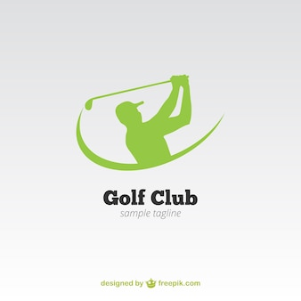 Clube de golfe do logotipo