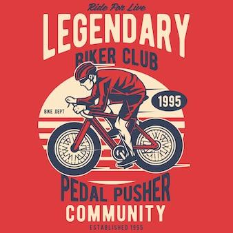 Clube de motoqueiros lendários