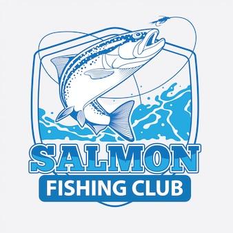 Clube de pesca de salmão