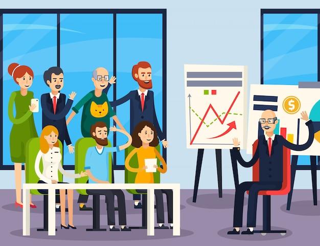 Coaching de negócios ortogonal