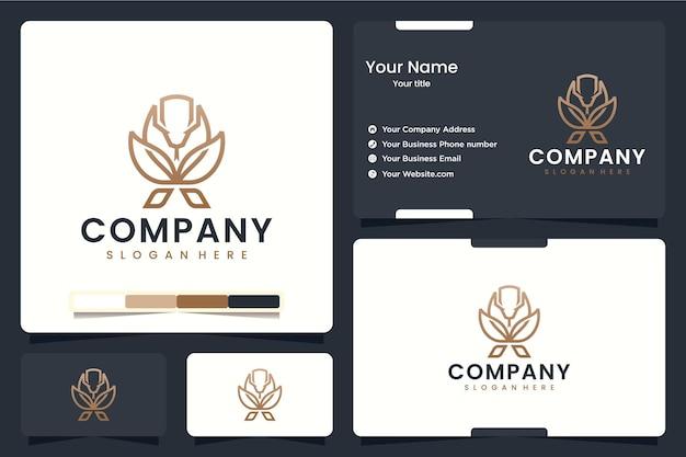 Cobra, clínica, inspiração para o design de logotipo