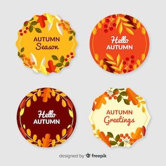 Cobrança, de, apartamento, outono, etiquetas