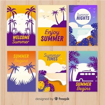 Cobrança, de, apartamento, verão, cartões