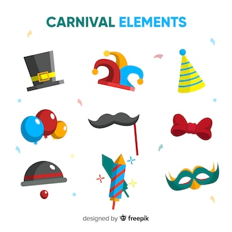 Cobrança, de, carnaval, elementos