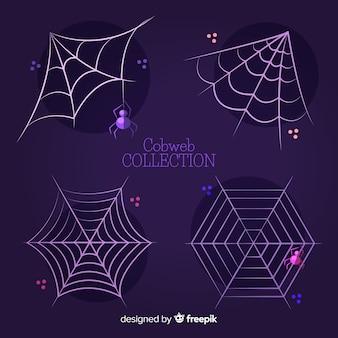Cobrança, de, dia das bruxas, teia de aranha