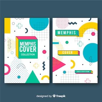 Cobrir coleção em estilo memphis