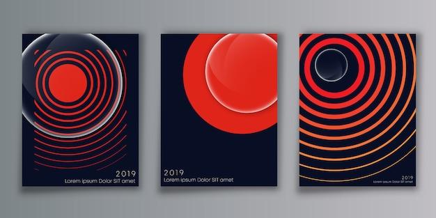 Cobrir o fundo design minimalista
