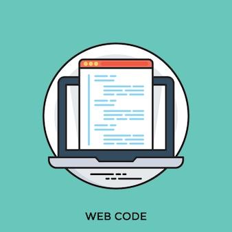 Código da web