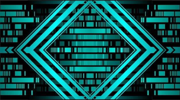 Código de barras light abstract pixels technology background