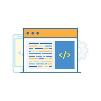 Código ilustração