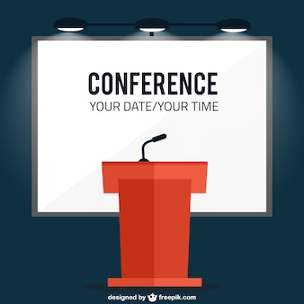 Coference banner template