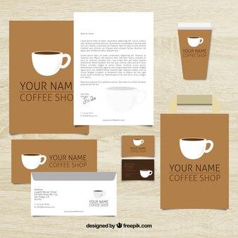 Coffee shop papelaria