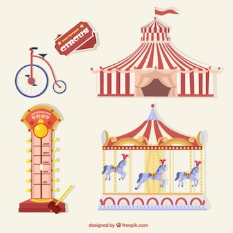 Coisas de circo embalar