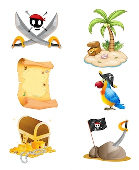 Coisas relacionadas a um pirata