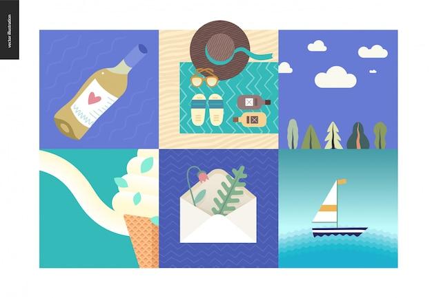 Coisas simples - férias