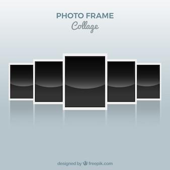 Colagem de molduras para fotos