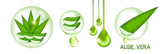 Colágeno aloe vera e soro para cosméticos para cuidados com a pele
