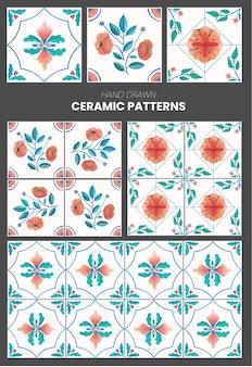 Coleção 5 de telhas cerâmicas