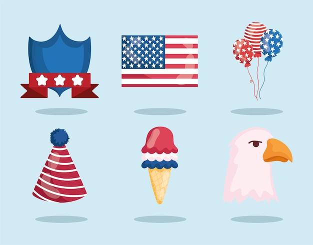 Coleção americana de julho
