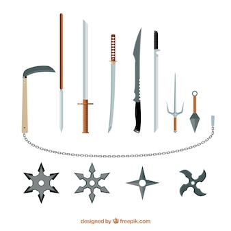 Coleção arma ninja