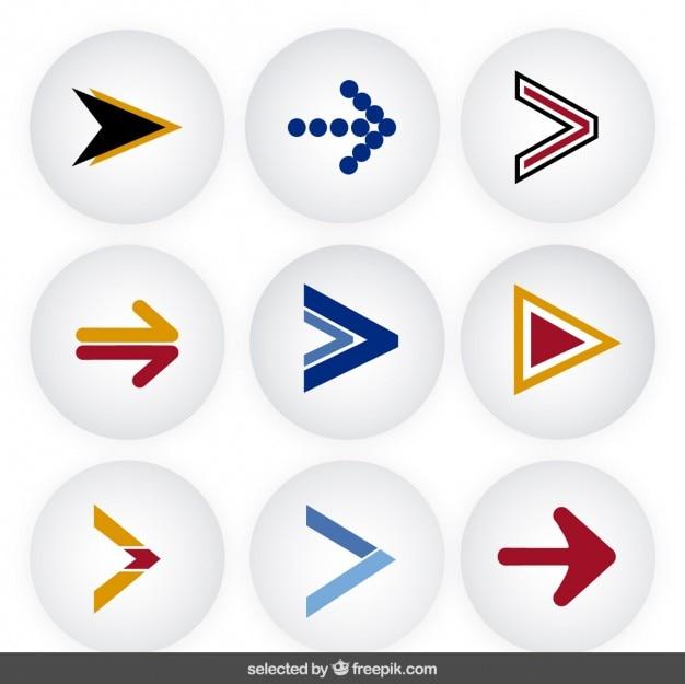 Coleção arrows