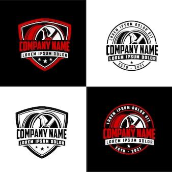 Coleção automotiva logo design