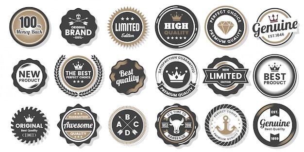 Coleção badges