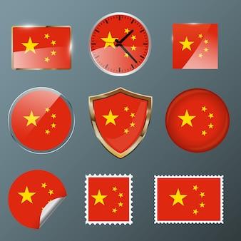 Coleção bandeira china