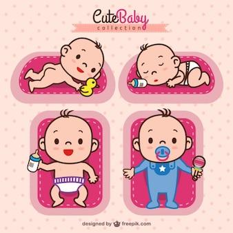 Coleção bebé adorável