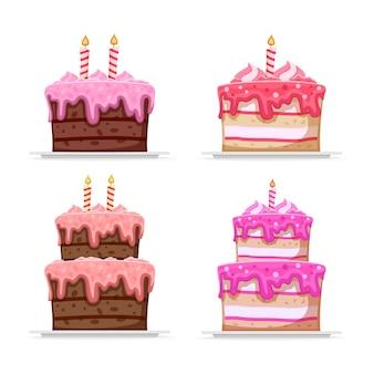 Coleção bolo de aniversário