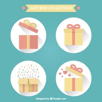Coleção caixas de presente