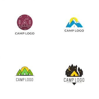 Coleção camp logo