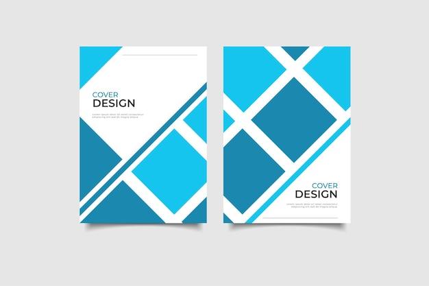 Coleção capa de design de negócios