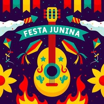 Coleção cartoon festa junina