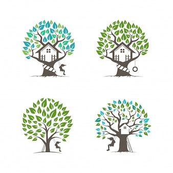 Coleção casa na árvore