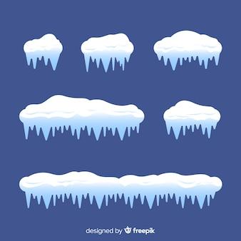 Coleção clássica de boné de neve