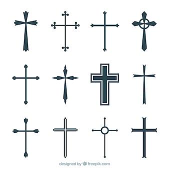 Coleção cruzada de silhouette christian