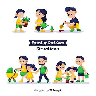 Coleção da família