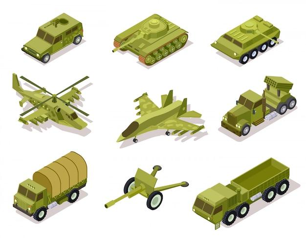 Coleção de armas de armadura.